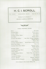 Page 6, 1946 Edition, Higgins Classical Institute - Scroll Yearbook (Charleston, ME) online yearbook collection