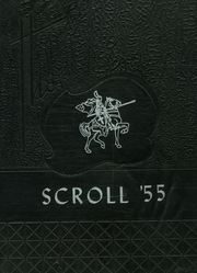 1955 Edition, Higgins Classical Institute - Scroll Yearbook (Charleston, ME)