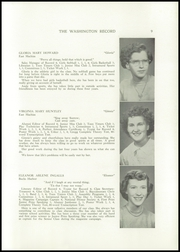 Page 11, 1951 Edition, Washington Academy - Record Yearbook (East Machias, ME) online yearbook collection