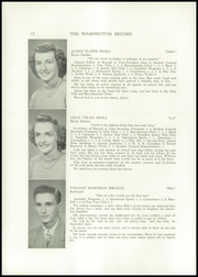 Page 14, 1951 Edition, Washington Academy - Record Yearbook (East Machias, ME) online yearbook collection
