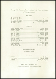 Page 6, 1951 Edition, Washington Academy - Record Yearbook (East Machias, ME) online yearbook collection