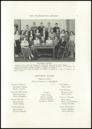 Page 7, 1951 Edition, Washington Academy - Record Yearbook (East Machias, ME) online yearbook collection