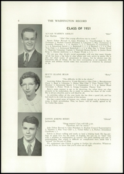 Page 8, 1951 Edition, Washington Academy - Record Yearbook (East Machias, ME) online yearbook collection