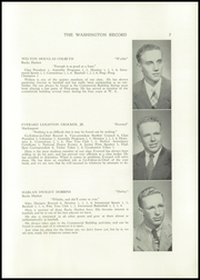 Page 9, 1951 Edition, Washington Academy - Record Yearbook (East Machias, ME) online yearbook collection
