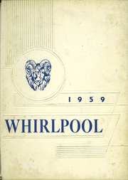1959 Edition, Pennell Institute - Whirlpool Yearbook (Gray, ME)