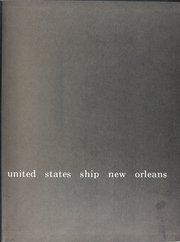 Page 3, 1970 Edition, New Orleans (LPH 11) - Naval Cruise Book online yearbook collection
