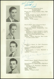 Page 16, 1949 Edition, Kents Hill School - Yearbook (Kents Hill, ME) online yearbook collection
