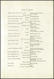 Page 9, 1949 Edition, Kents Hill School - Yearbook (Kents Hill, ME) online yearbook collection