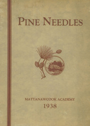 1938 Edition, Mattanawcook Academy - Pine Needles Yearbook (Lincoln, ME)