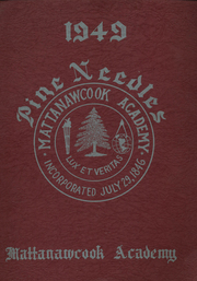 1949 Edition, Mattanawcook Academy - Pine Needles Yearbook (Lincoln, ME)