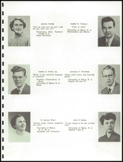 Page 7, 1953 Edition, Mattanawcook Academy - Pine Needles Yearbook (Lincoln, ME) online yearbook collection