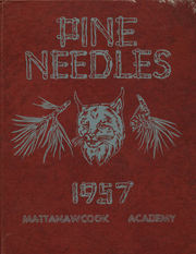 1957 Edition, Mattanawcook Academy - Pine Needles Yearbook (Lincoln, ME)