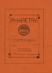 1947 Edition, Monson Academy - Pharetra Yearbook (Monson, ME)