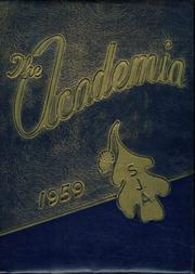 1959 Edition, St Josephs Academy - Academia Yearbook (Portland, ME)