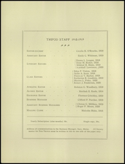 Page 8, 1918 Edition, Thornton Academy - Tripod Yearbook (Saco, ME) online yearbook collection