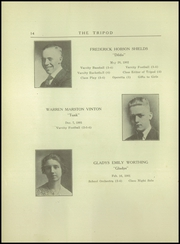 Page 16, 1920 Edition, Thornton Academy - Tripod Yearbook (Saco, ME) online yearbook collection