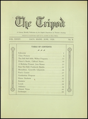 Page 3, 1920 Edition, Thornton Academy - Tripod Yearbook (Saco, ME) online yearbook collection