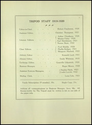 Page 4, 1920 Edition, Thornton Academy - Tripod Yearbook (Saco, ME) online yearbook collection