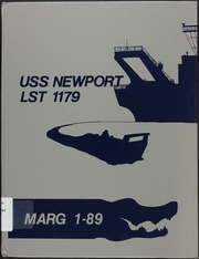 1989 Edition, Newport (LST 1179) - Naval Cruise Book