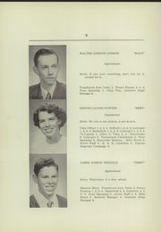 Page 10, 1952 Edition, Freedom Academy - Echo Yearbook (Freedom, ME) online yearbook collection