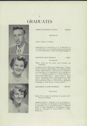 Page 9, 1952 Edition, Freedom Academy - Echo Yearbook (Freedom, ME) online yearbook collection