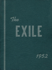 1952 Edition, Vinalhaven High School - Exile Yearbook (Vinalhaven, ME)