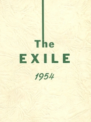 1954 Edition, Vinalhaven High School - Exile Yearbook (Vinalhaven, ME)