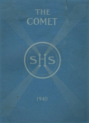 1940 Edition, Sedgwick High School - Comet Yearbook (Sedgwick, ME)
