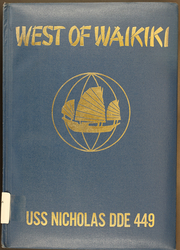 1959 Edition, Nicholas (DDE 449) - Naval Cruise Book