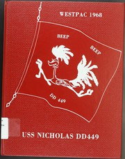 Page 1, 1968 Edition, Nicholas (DDE 449) - Naval Cruise Book online yearbook collection