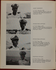 Page 10, 1968 Edition, Nicholas (DDE 449) - Naval Cruise Book online yearbook collection