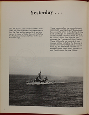 Page 6, 1968 Edition, Nicholas (DDE 449) - Naval Cruise Book online yearbook collection