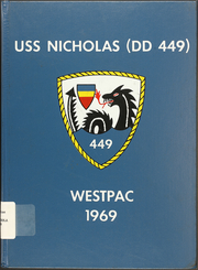 1969 Edition, Nicholas (DDE 449) - Naval Cruise Book