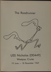 Page 3, 1969 Edition, Nicholas (DDE 449) - Naval Cruise Book online yearbook collection