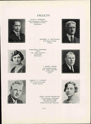 Page 23, 1937 Edition, Wisconsin State Teachers College - Meletean Yearbook (River Falls, WI) online yearbook collection