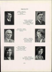 Page 25, 1937 Edition, Wisconsin State Teachers College - Meletean Yearbook (River Falls, WI) online yearbook collection