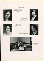 Page 27, 1937 Edition, Wisconsin State Teachers College - Meletean Yearbook (River Falls, WI) online yearbook collection