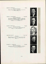 Page 35, 1937 Edition, Wisconsin State Teachers College - Meletean Yearbook (River Falls, WI) online yearbook collection
