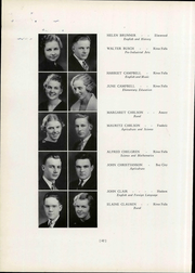 Page 72, 1937 Edition, Wisconsin State Teachers College - Meletean Yearbook (River Falls, WI) online yearbook collection