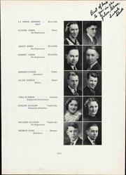 Page 93, 1937 Edition, Wisconsin State Teachers College - Meletean Yearbook (River Falls, WI) online yearbook collection