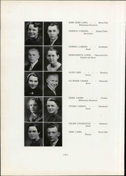 Page 94, 1937 Edition, Wisconsin State Teachers College - Meletean Yearbook (River Falls, WI) online yearbook collection
