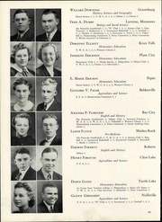 Page 54, 1940 Edition, Wisconsin State Teachers College - Meletean Yearbook (River Falls, WI) online yearbook collection