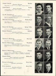 Page 55, 1940 Edition, Wisconsin State Teachers College - Meletean Yearbook (River Falls, WI) online yearbook collection