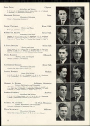 Page 59, 1940 Edition, Wisconsin State Teachers College - Meletean Yearbook (River Falls, WI) online yearbook collection