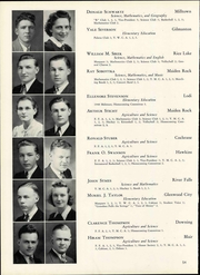 Page 60, 1940 Edition, Wisconsin State Teachers College - Meletean Yearbook (River Falls, WI) online yearbook collection