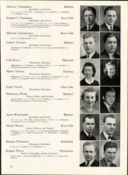 Page 61, 1940 Edition, Wisconsin State Teachers College - Meletean Yearbook (River Falls, WI) online yearbook collection