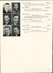 Page 62, 1940 Edition, Wisconsin State Teachers College - Meletean Yearbook (River Falls, WI) online yearbook collection