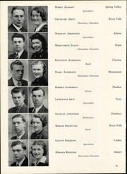 Page 64, 1940 Edition, Wisconsin State Teachers College - Meletean Yearbook (River Falls, WI) online yearbook collection