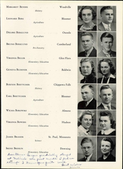 Page 65, 1940 Edition, Wisconsin State Teachers College - Meletean Yearbook (River Falls, WI) online yearbook collection