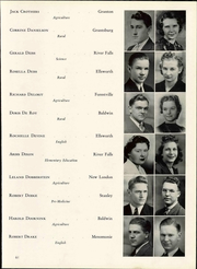 Page 67, 1940 Edition, Wisconsin State Teachers College - Meletean Yearbook (River Falls, WI) online yearbook collection